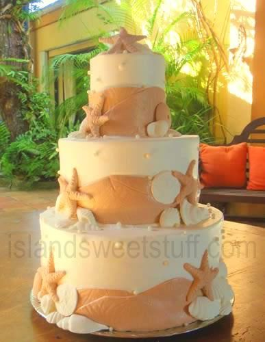 Sand Dollar Wedding Cakes Back To Top