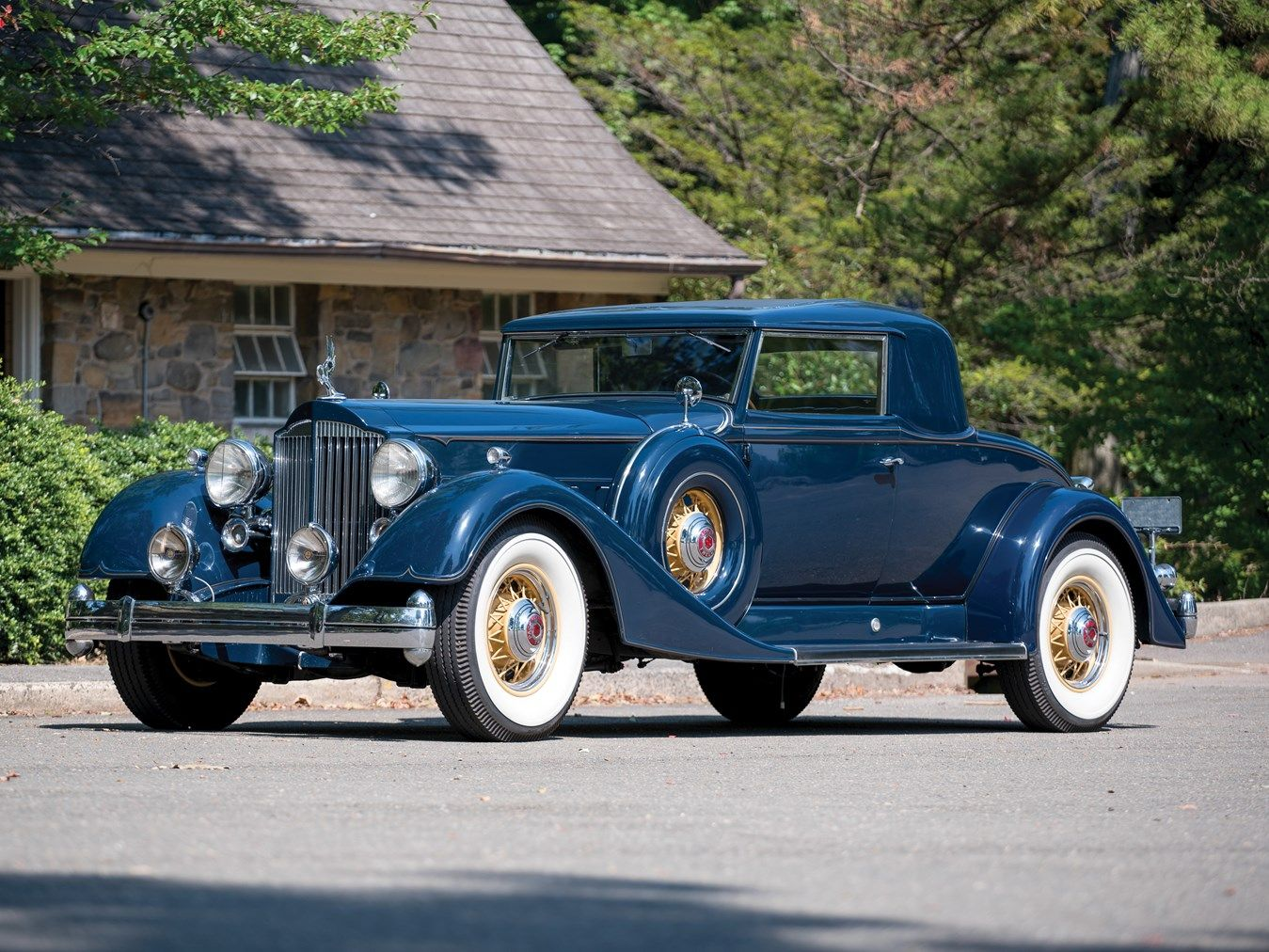 1934 Packard Twelve 2/4-Passenger Coupe Chassis No.902316 Engine No ...