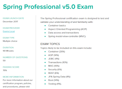 Top 10 It Certifications For Java Developers In 2020 Java Programming Tutorials Spring Professional Project Management Professional