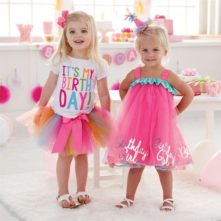 Mud Pie Mudpie Birthday Girl Tulle Dress