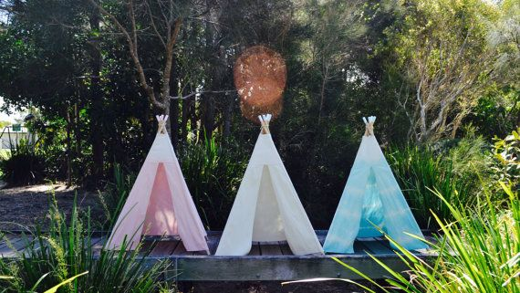 Teepee's by minpots on Etsy
