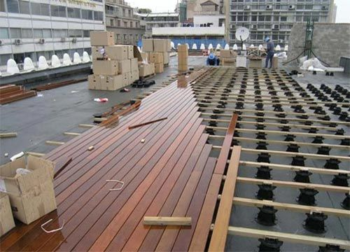 Pedestal Paver System Google Search Rooftop Deck Rooftop Patio Rooftop Design