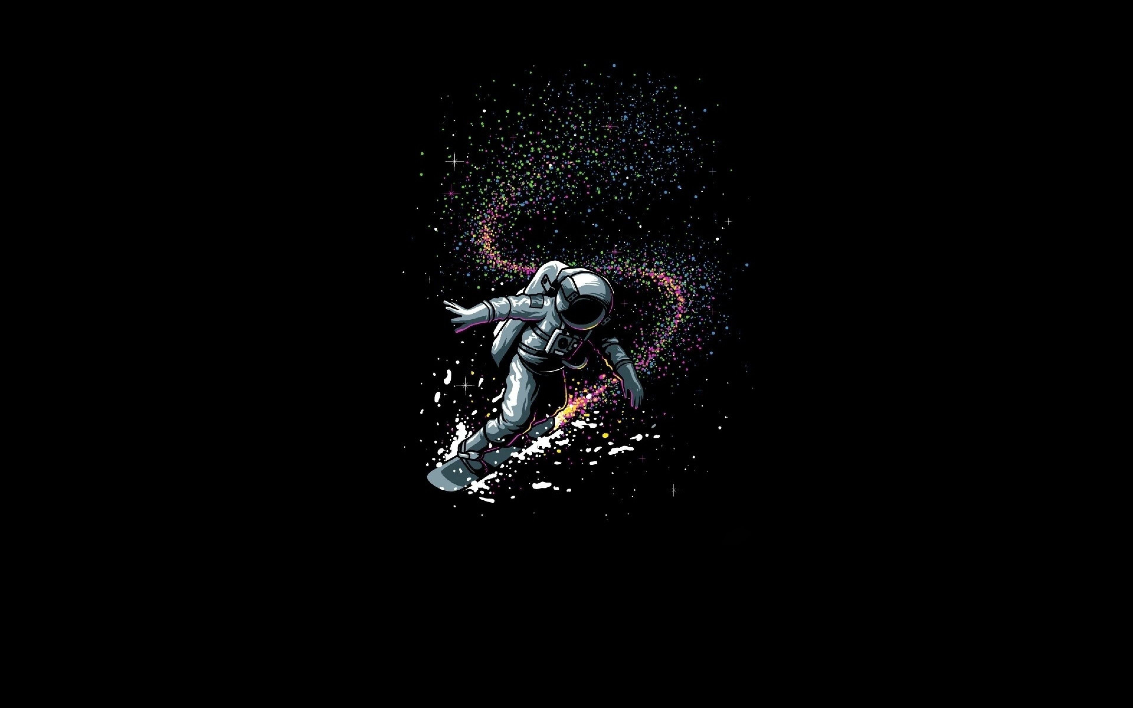 surfing astronaut astronaut wallpaper laptop wallpaper