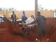 Compressed earth block machine – HOME PLACES UGANDA
