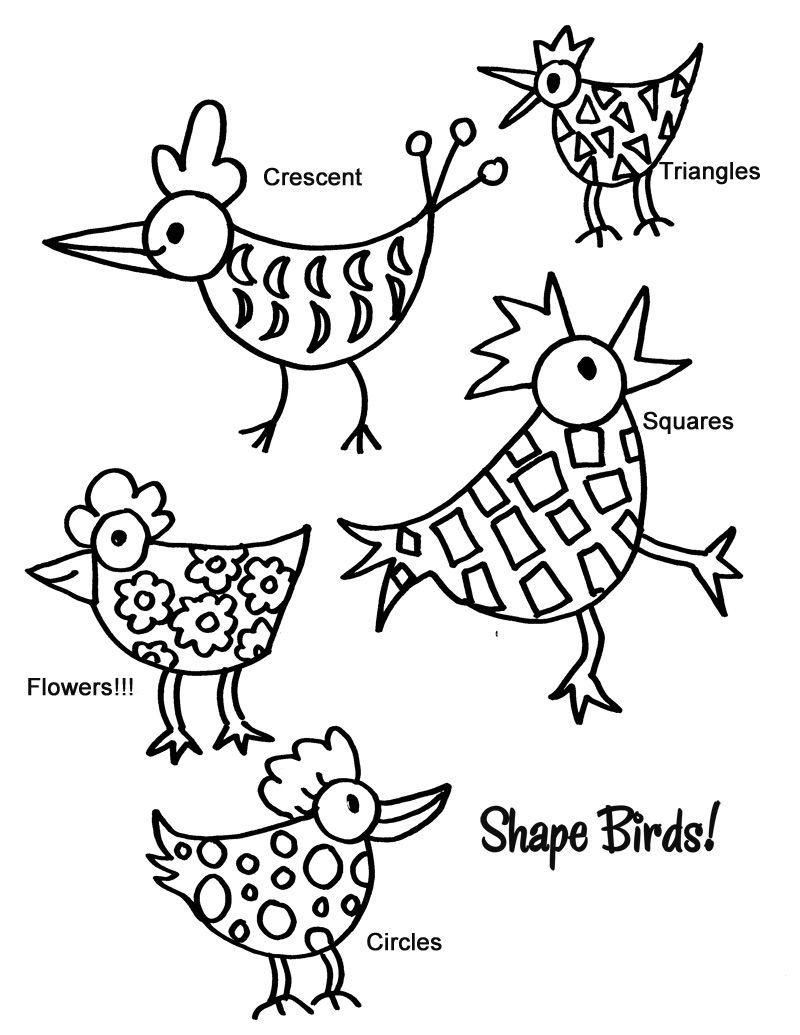 Shape Bird Deep Space Sparkle Elementary Art Elementary Art Projects Art Lessons [ 1035 x 800 Pixel ]