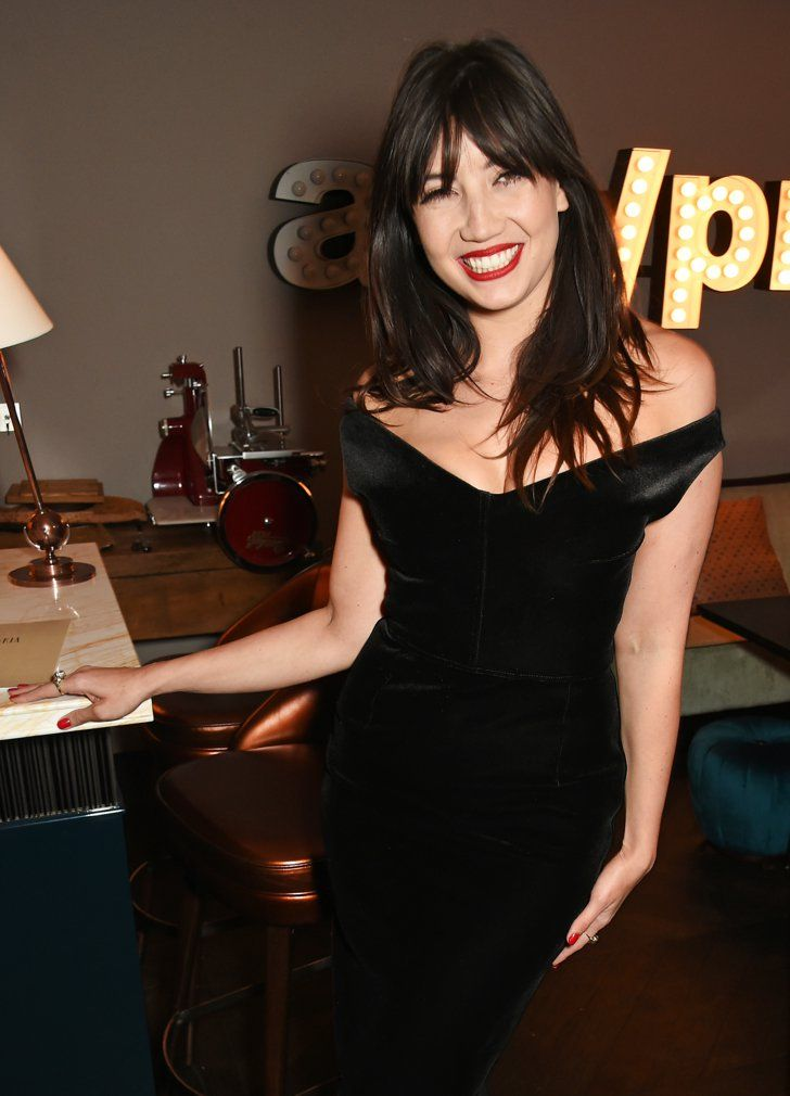Pin for Later: From Brooklyn Beckham to Henry Cavill: Stars at the London Menswear Shows Daisy Lowe At the closing dinner.