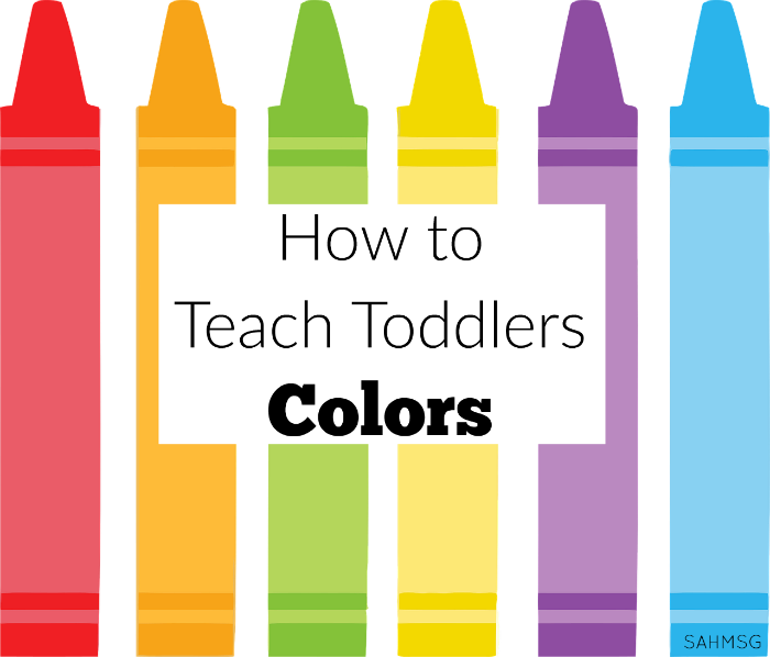 how to teach toddlers colors - Color For Toddlers