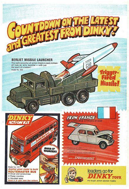 Dinky Cars Ad 1971 Matchbox Cars Ads Retro Toys