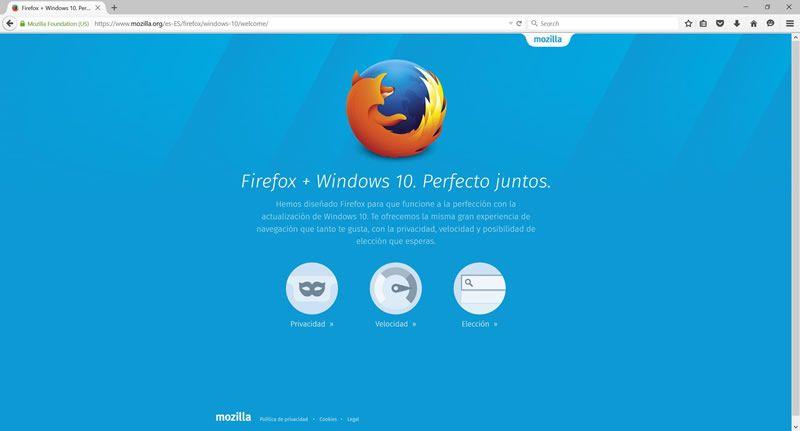 Firefox lanza nueva versión para Windows 10 con renovada imagen - http://webadictos.com/2015/08/11/firefox-para-windows-10/?utm_source=PN&utm_medium=Pinterest&utm_campaign=PN%2Bposts