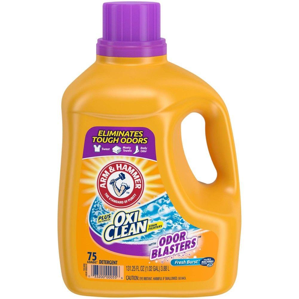Arm Hammer Plus Oxiclean Odor Blasters Liquid Laundry Detergent