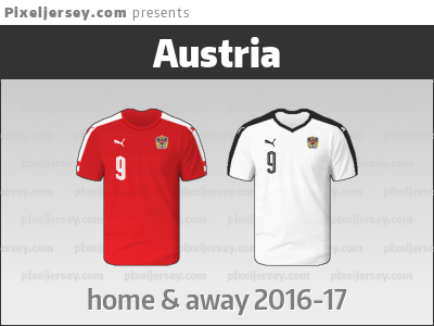 brand new 44f44 31933 Austria national team jerseys for EURO 2016 where they had ...