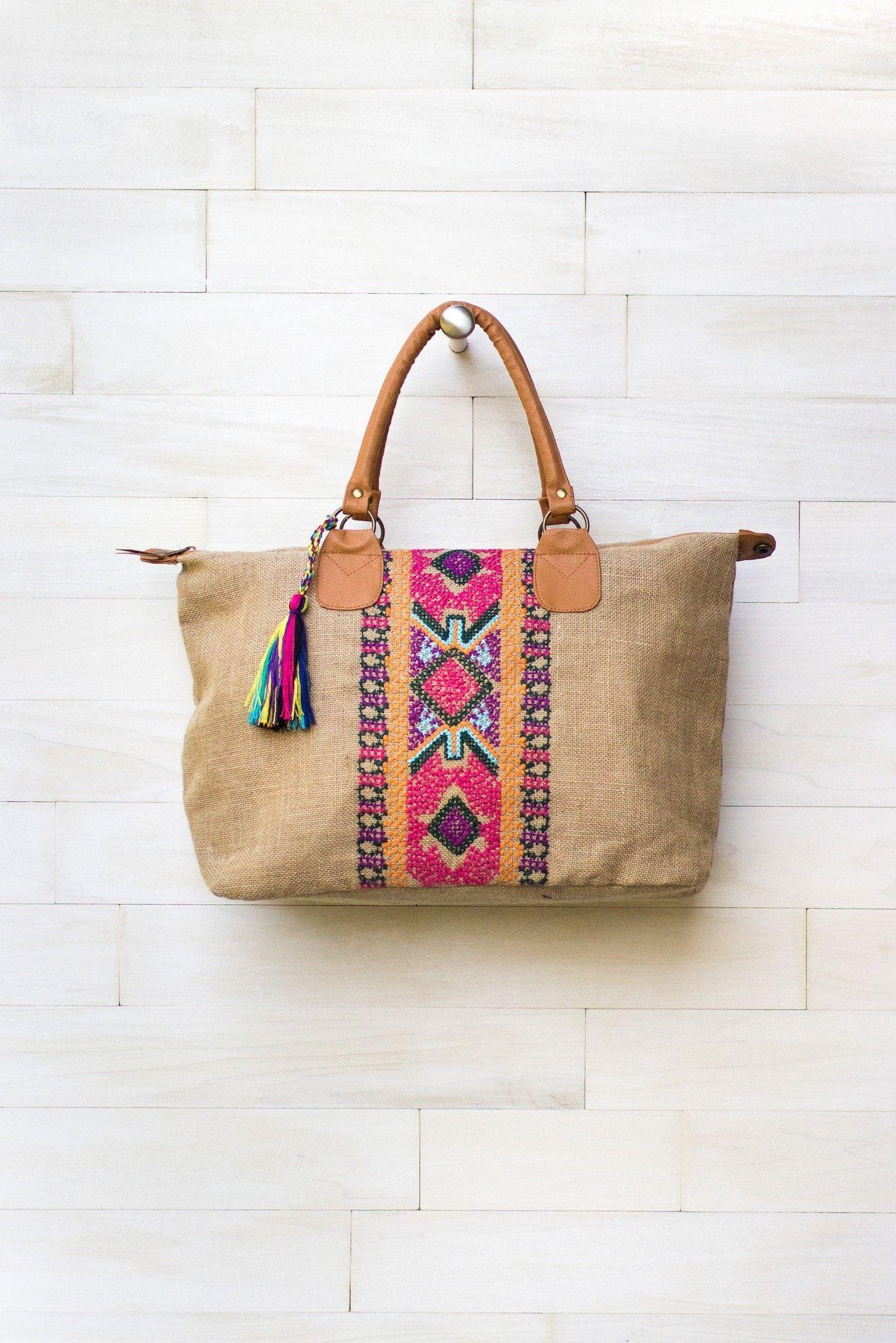Analia Embroidered Bag