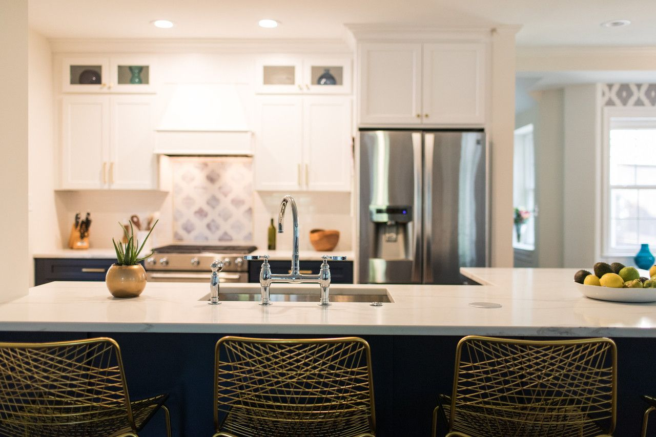Küchendesign rot und weiß  hot kitchen design trends in the baltimore area  fesche küche