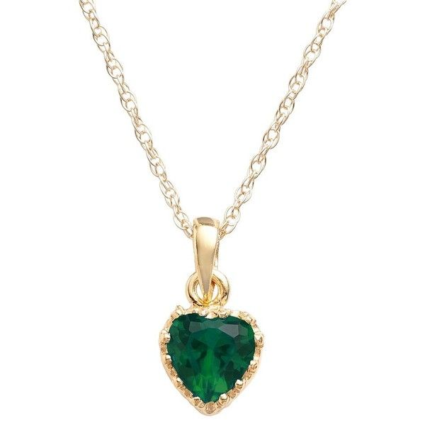 14k gold over silver lab created emerald heart crown pendant 40 14k gold over silver lab created emerald heart crown pendant 40 liked mozeypictures Image collections