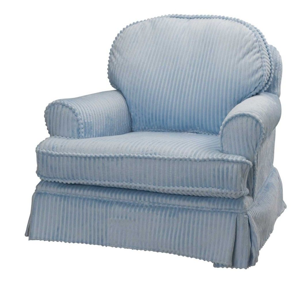 Black Friday Deals Free Shipping Harmony Blue Nursery Glider Chair With Swivels