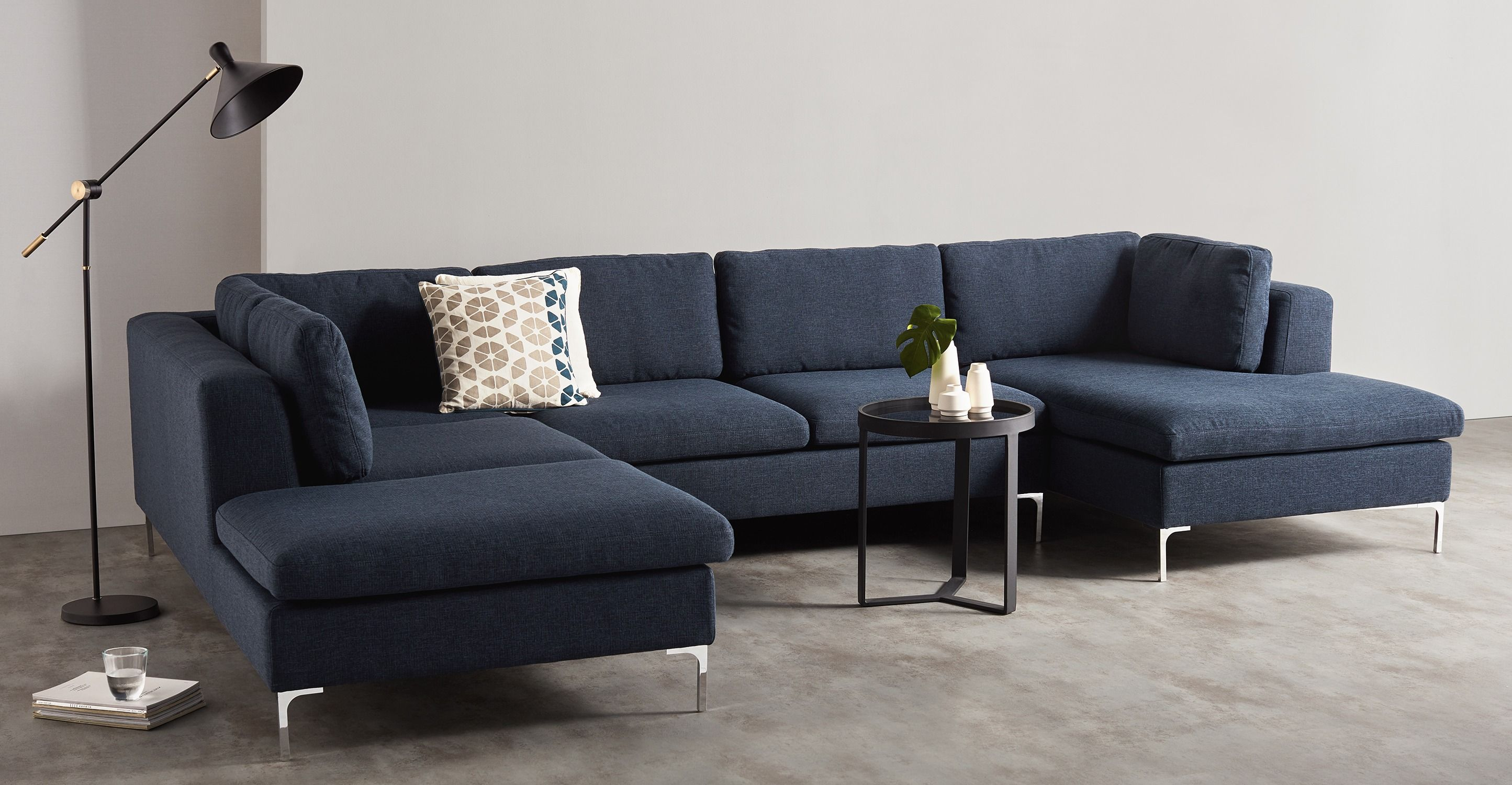 Made.com Corner Sofa | Corner Sofa, Blue Sectional Couch, Sofa