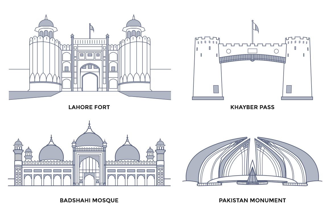 Pakistan Landmarks With Images Historic Buildings Famous