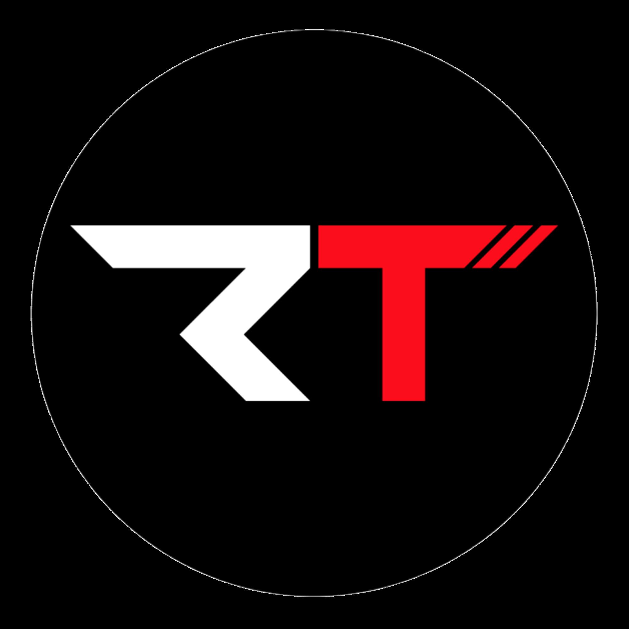 RT logo Cool logo, Letter logo design, Logo desing