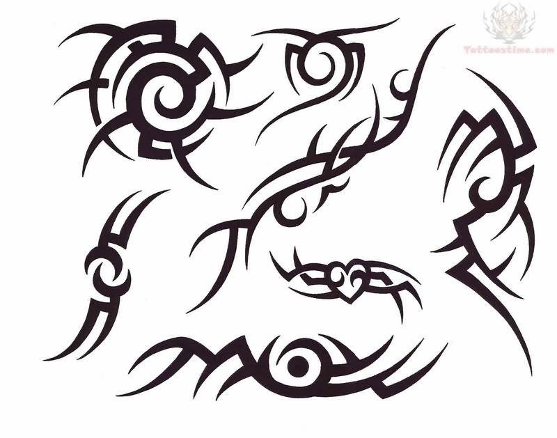 Tribal New Tattoo Design Simple Tribal Tattoos Tribal Tattoos Cool Tribal Tattoos