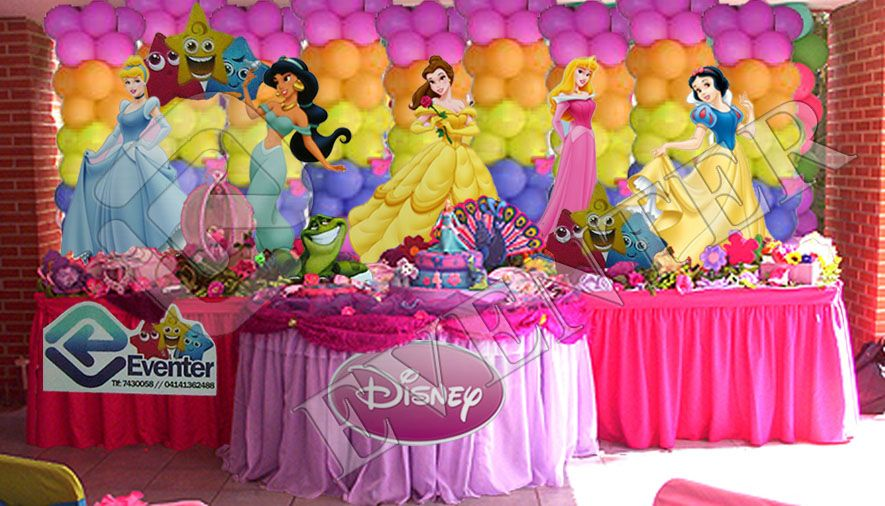 Decoración para fiestas infantil de princesas - Imagui