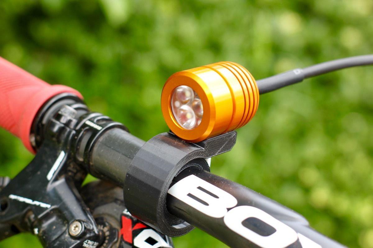 Klite Bikepacker Pro Bike Light Blasts 1200 Lumens Has Infinite
