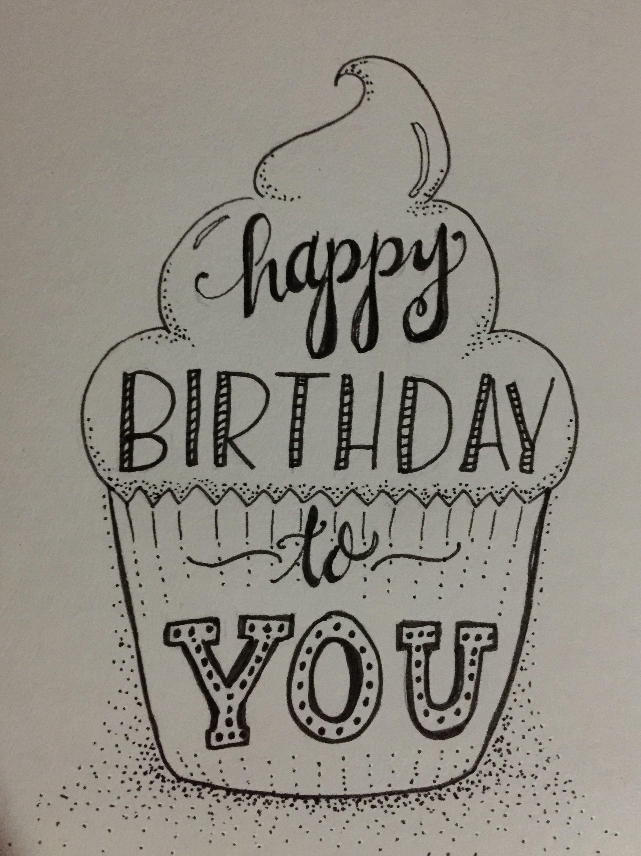 Pin By Frau Suhrbier On Cards Birthday Card Drawing Birthday Cards For Mom Creative Birthday Cards