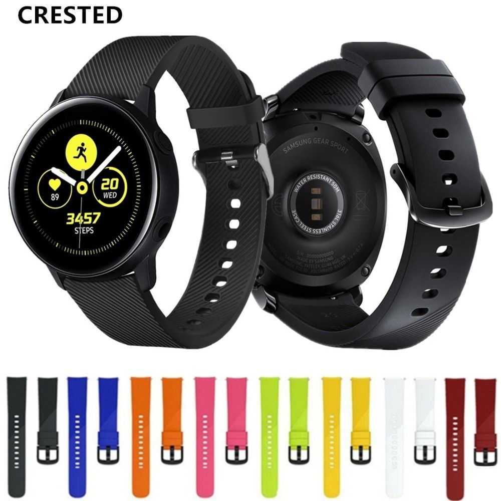 CRESTED Galaxy watch active strap For Samsung Gear Sport