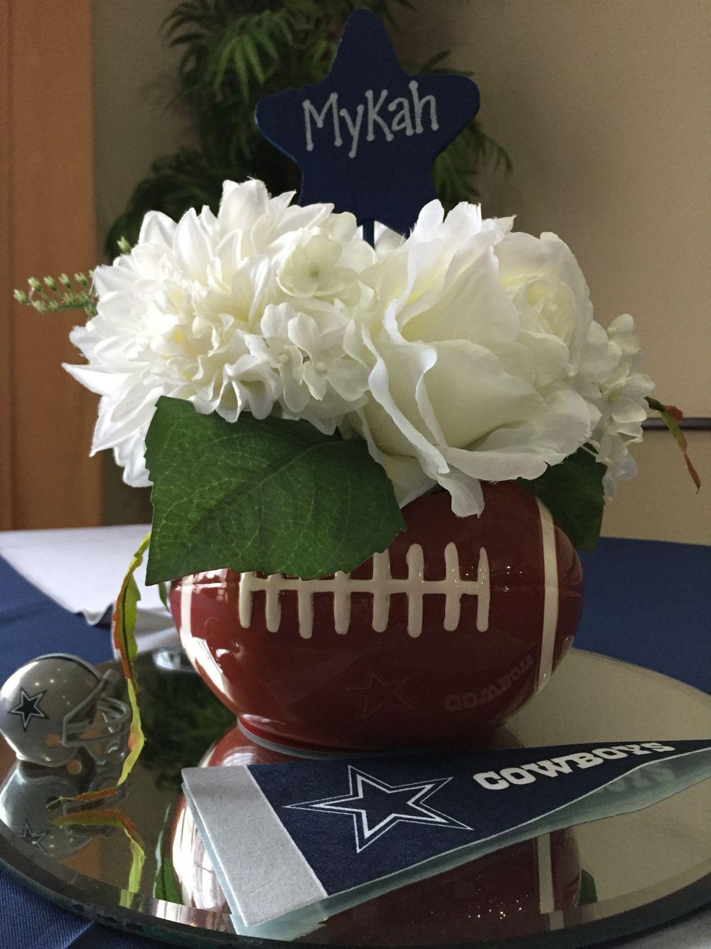 Dallas Cowboys Centerpiece