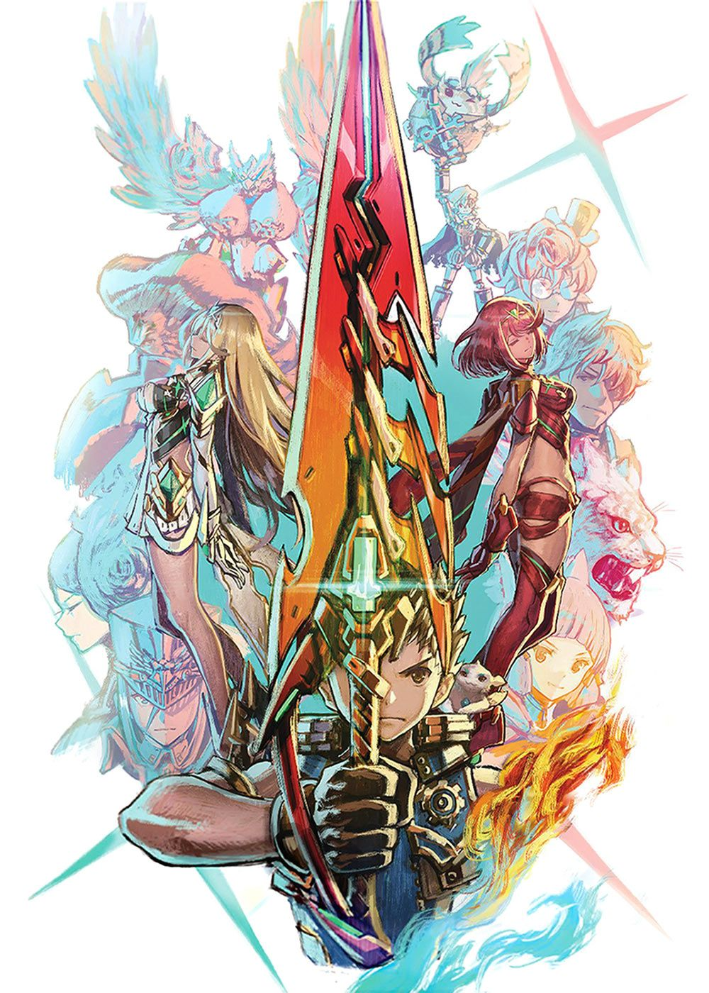 Special Edition Art From Xenoblade Chronicles 2 Xenoblade