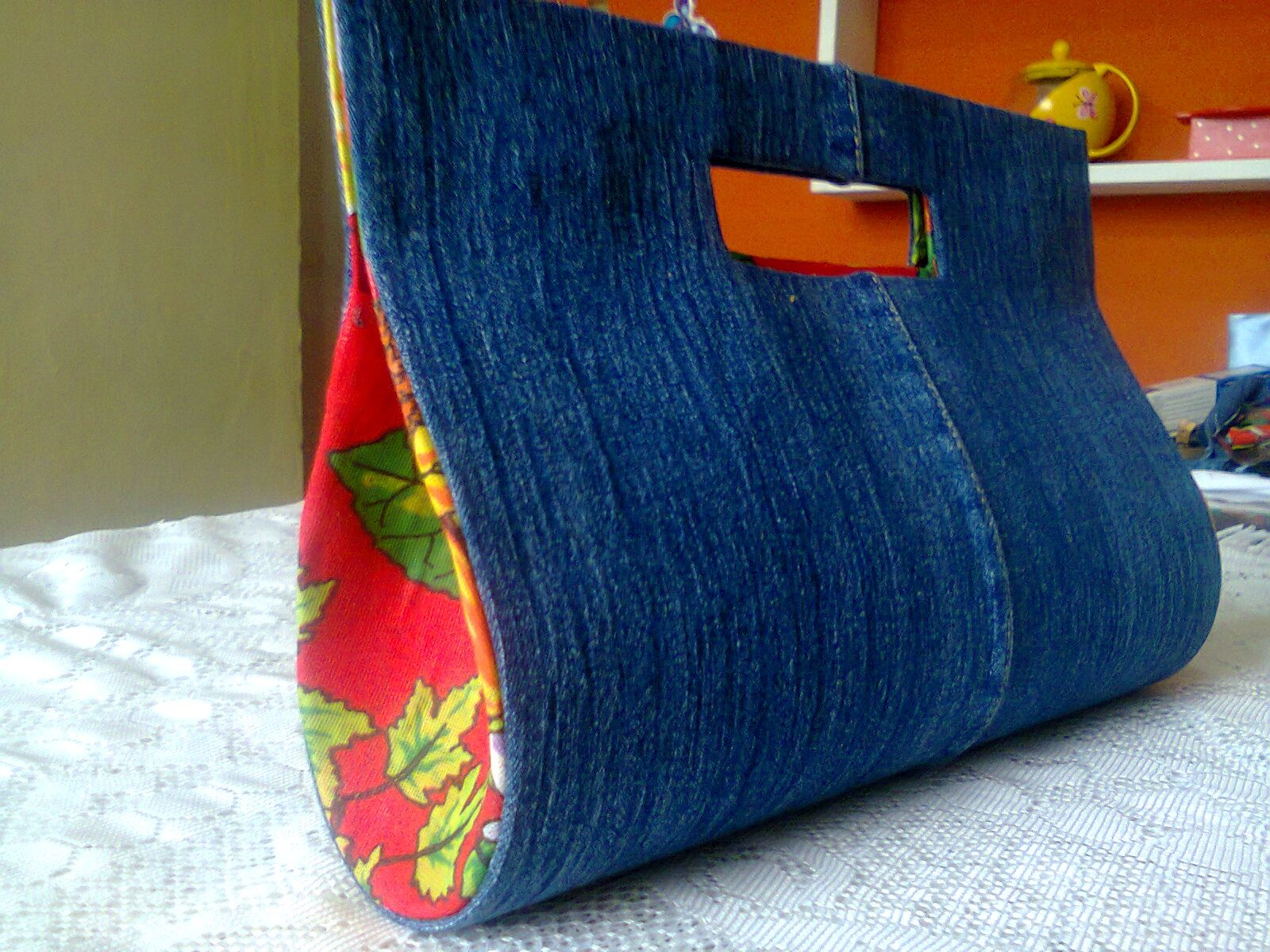 f56d83589 Bolsa cartonagem jeans … | bag_bolsos_carteras | Bags,…