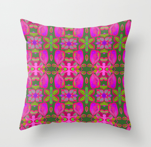 pillow by Wesna Wilson