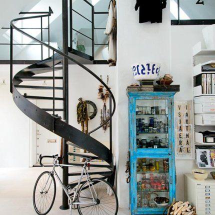 Un escalier façon œuvre d'art