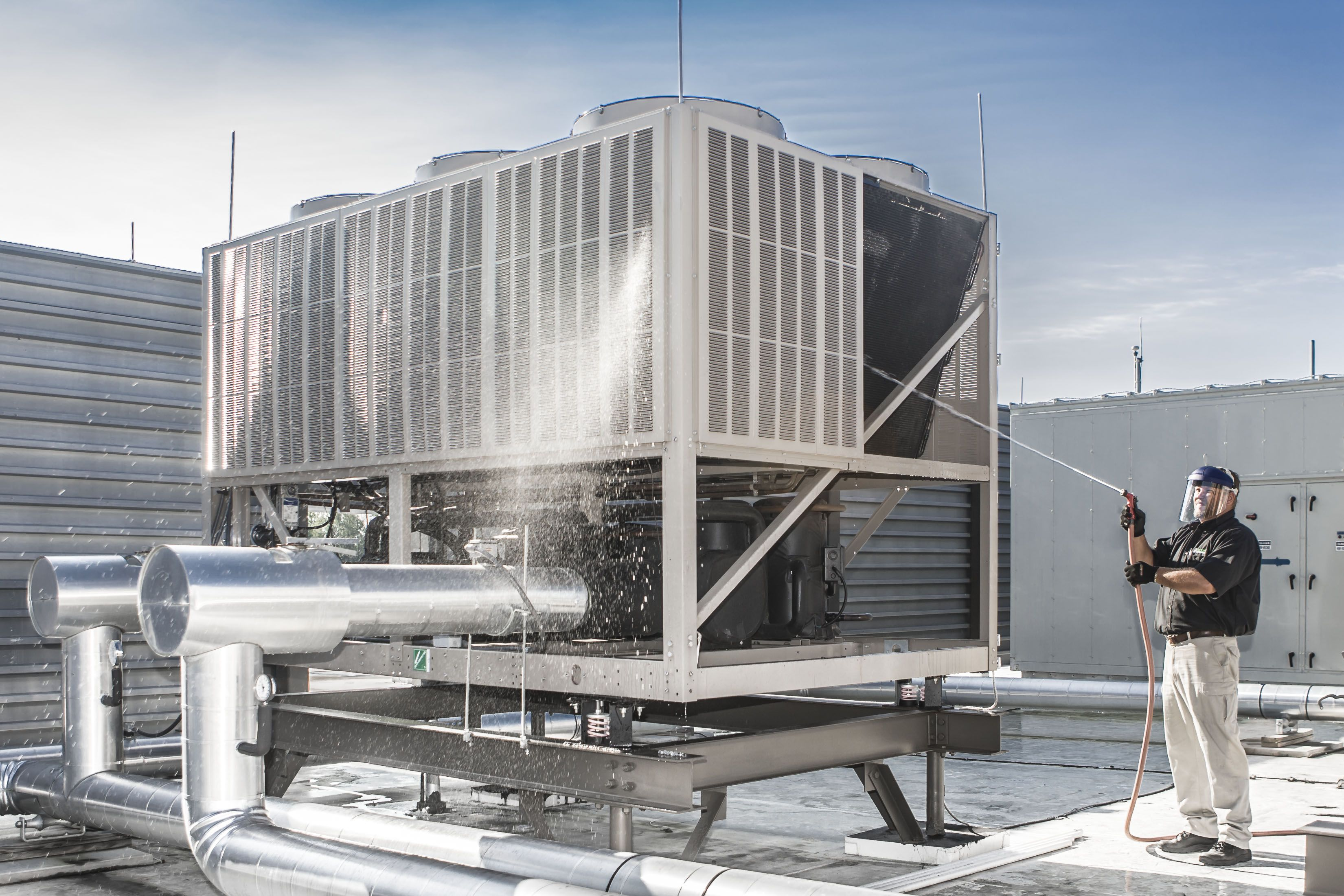Cooling Tower Cleaning From Crockett Cooling Tower Commercial