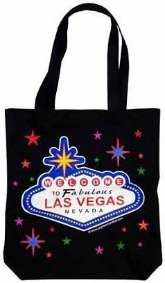 "Las Vegas Tote - Black Stars, Las Vegas Tote Bags, Las Vegas Souvenirs by Great Places To You. $9.95. Las Vegas Black Stars Tote Bag. Constructed of canvas with the famous Welcome to Las Vegas Sign image on both sides. This tote bag is 15"" high X 13"" wide. Handle is approximately 9"" high. Makes a Great Las Vegas Souvenir!"