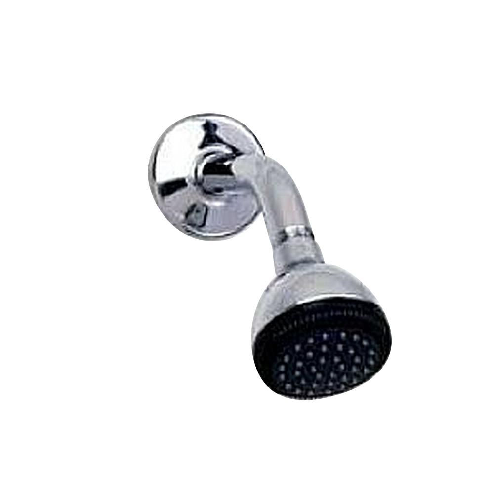 Single Function 3 Inch Easy Clean Showerhead In Polished Chrome