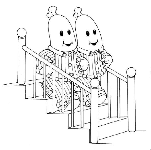 Dibujos para Colorear Bananas en Pijamas 2 | Dibujos para colorear ...