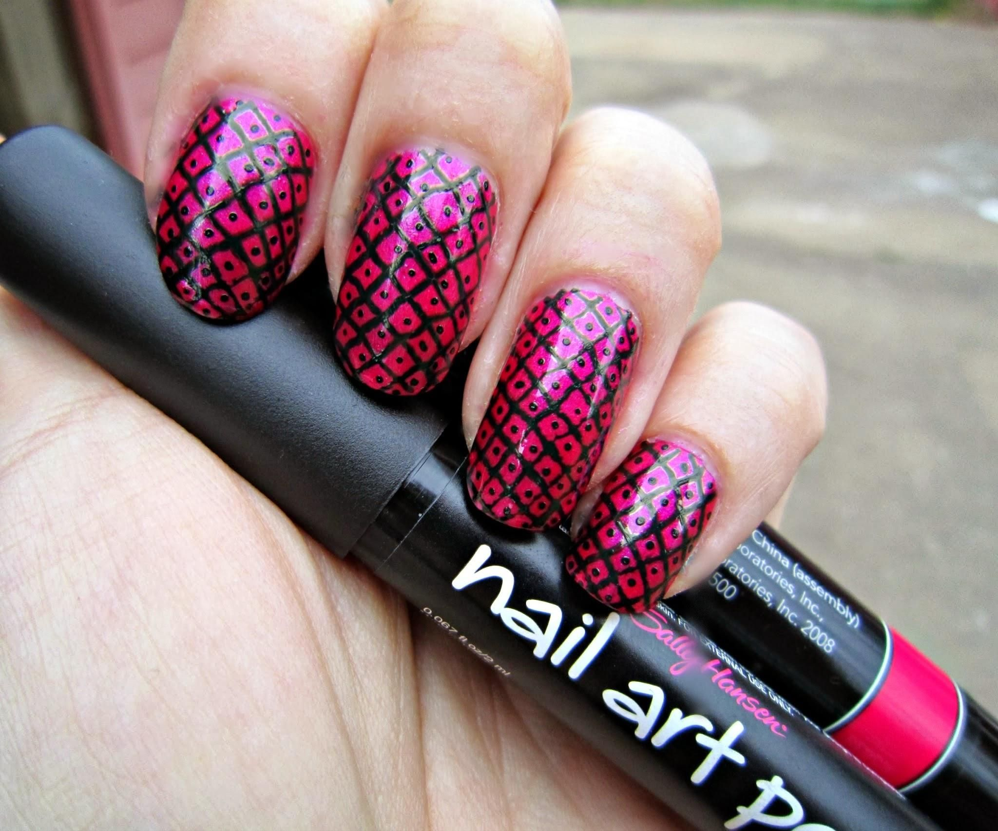 Sally Hansen Nail Art Pen Designs ... | Nail Designs | Pinterest ...