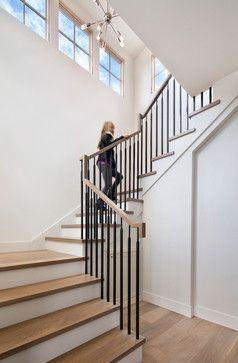 Best Staircase U Shape Staircase Whiteoak Modern Staircase 400 x 300