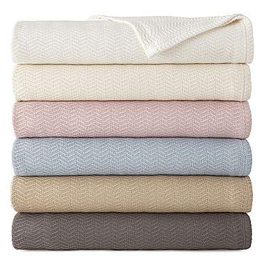 Jcp Royal Velvet Egyptian Cotton Blanket Egyptian Cotton