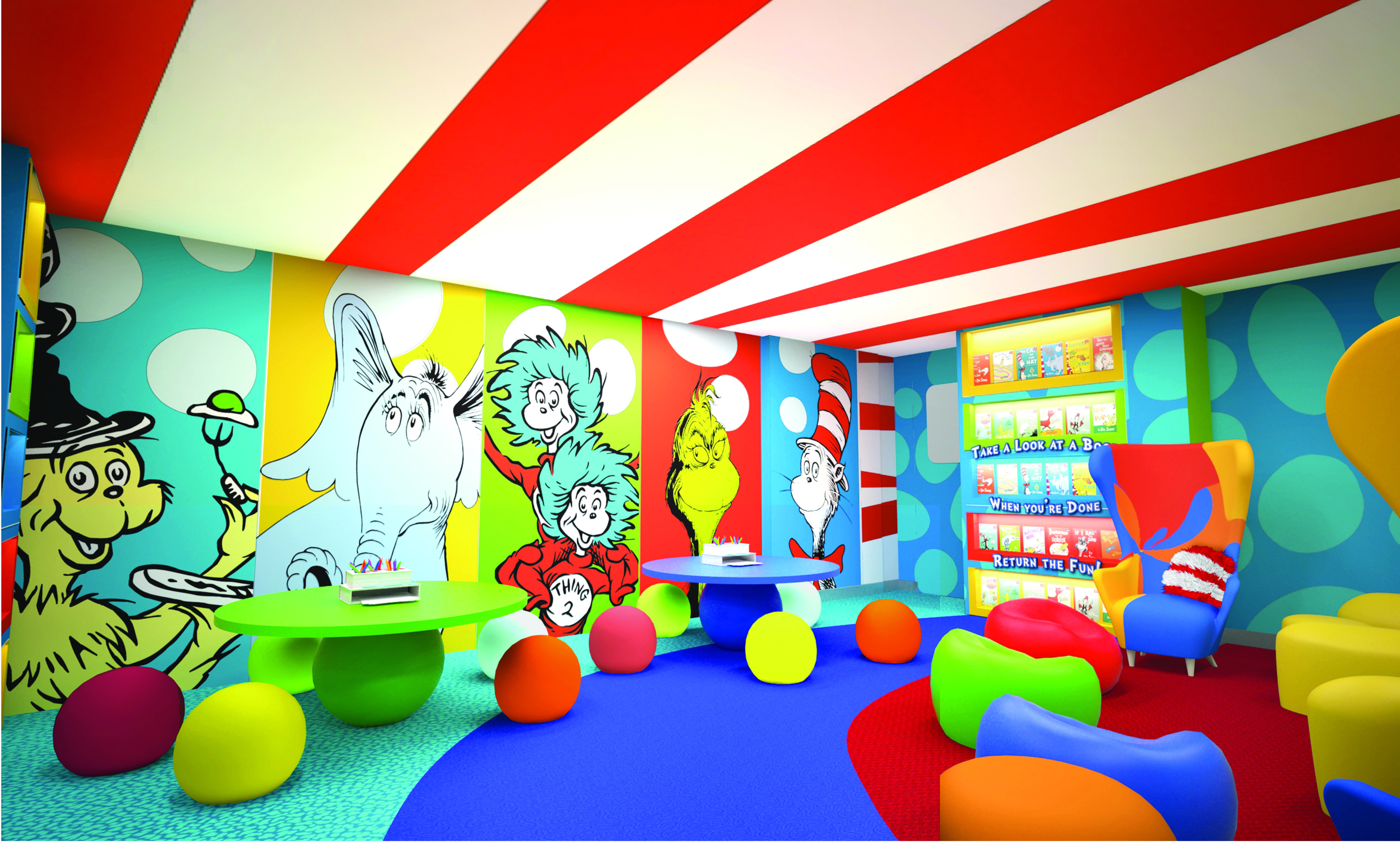 whimsical world of dr. suess | ... shapes and funky furniture inspired by the whimsical world of dr seuss