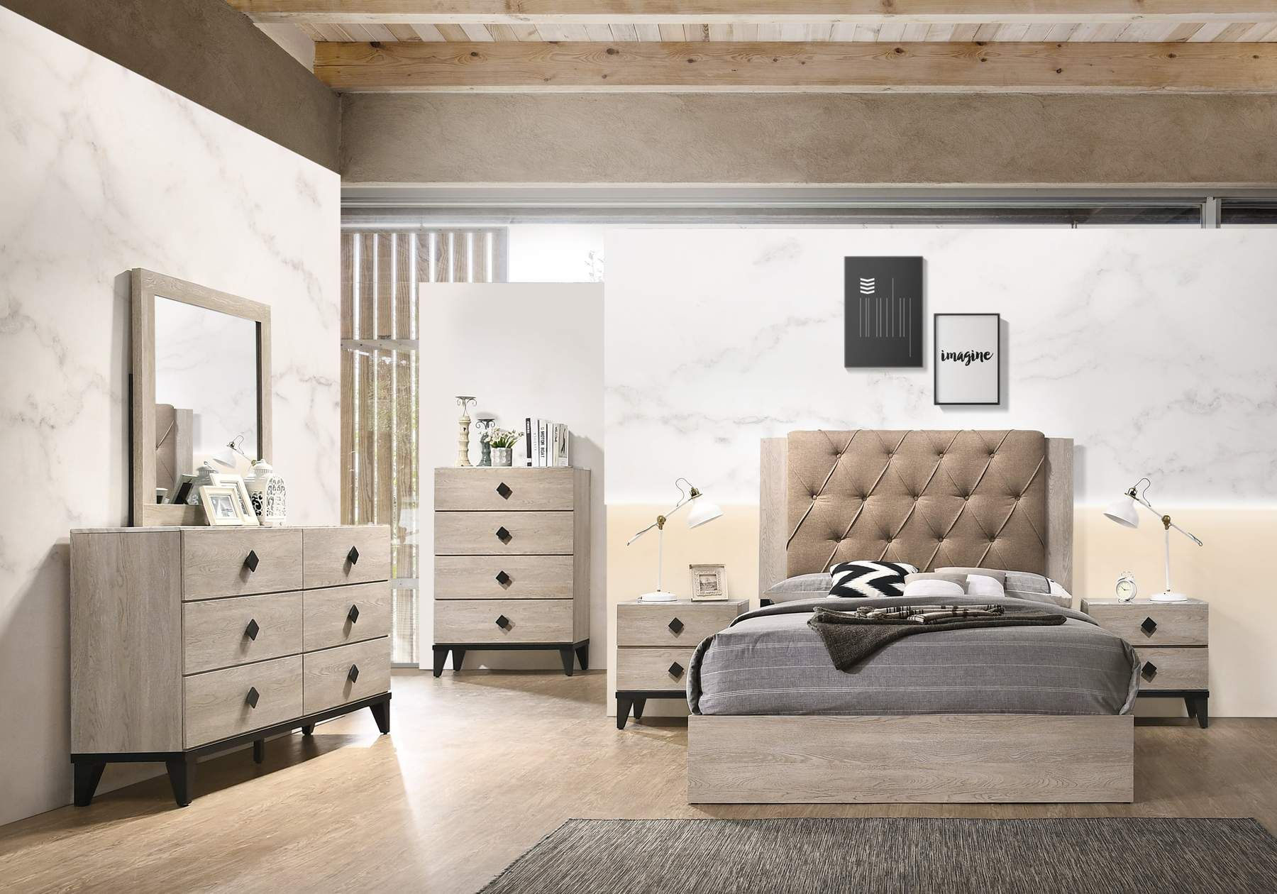 Ramos Bedroom Collection Furniture, Home decor, Bedroom