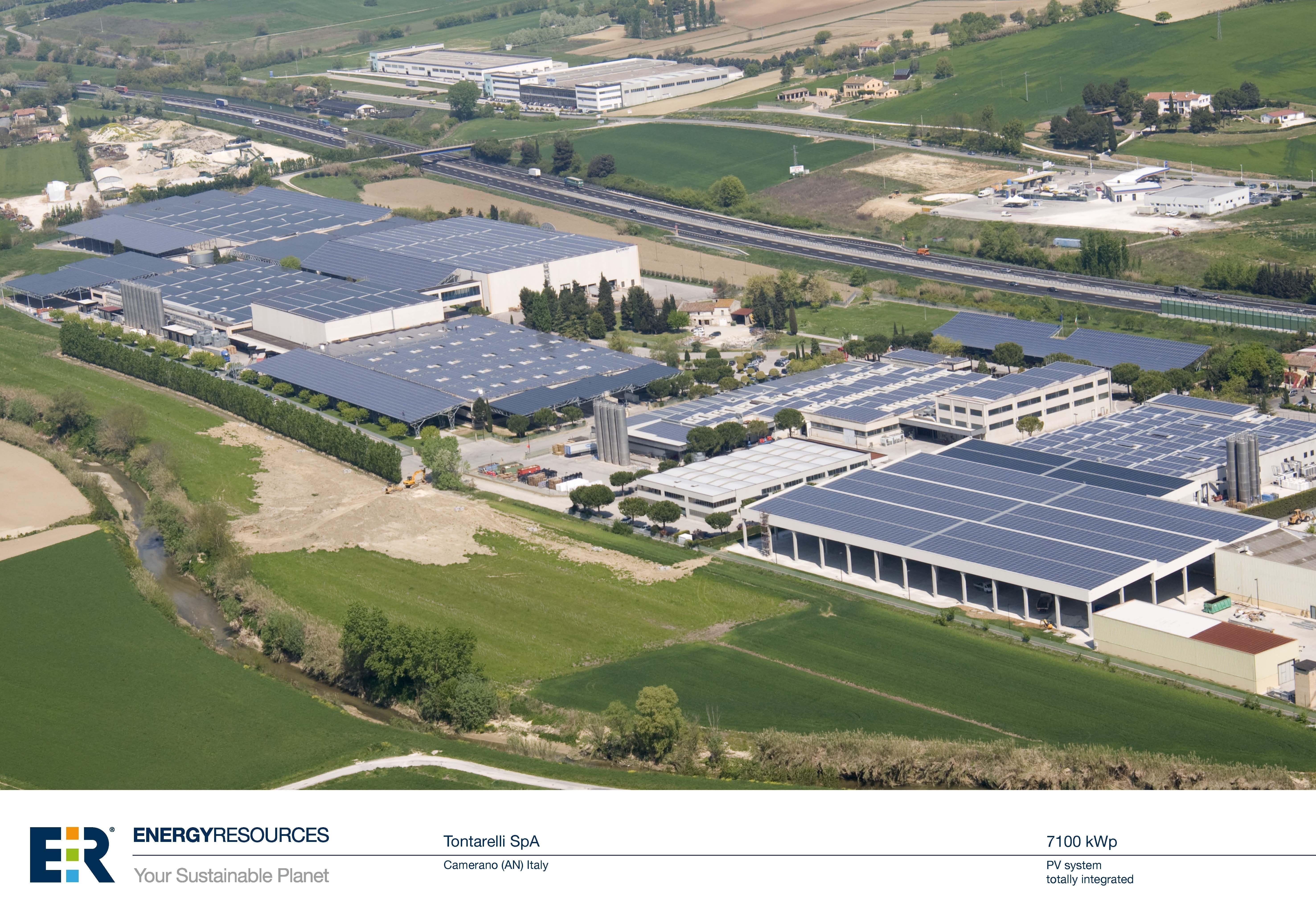 Tontarelli Spa La Quot Citt 224 Fotovoltaica Quot Energy