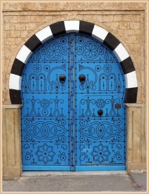 Portes tunisiennes portes pinterest beautiful for Porte de salon tunisie