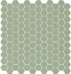 Winckelmans Vert Pale Hexagon Badkamer Pinterest
