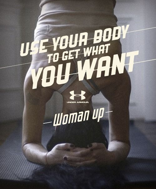 Under armour advertisments