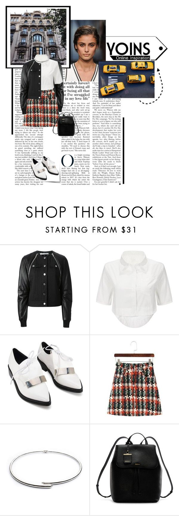 """""""Yoins Mini"""" by daniellerose14 ❤ liked on Polyvore featuring Chanel, Givenchy, Eddie Borgo and DKNY"""
