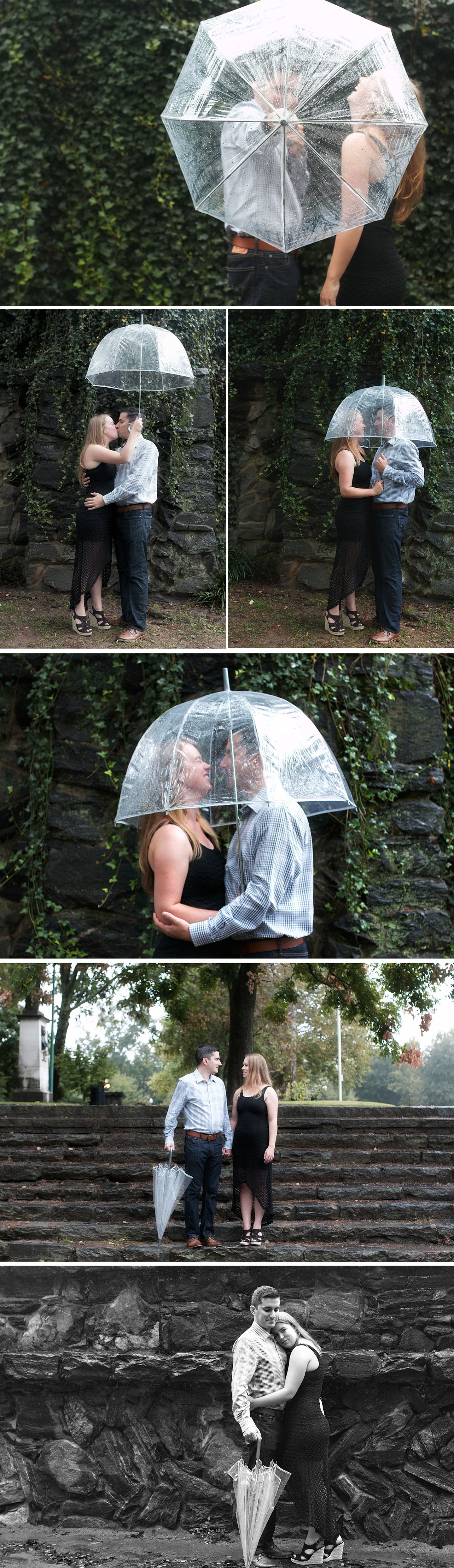 Engagement Session Ideas For Rainy Days Clear Umbrella From Target