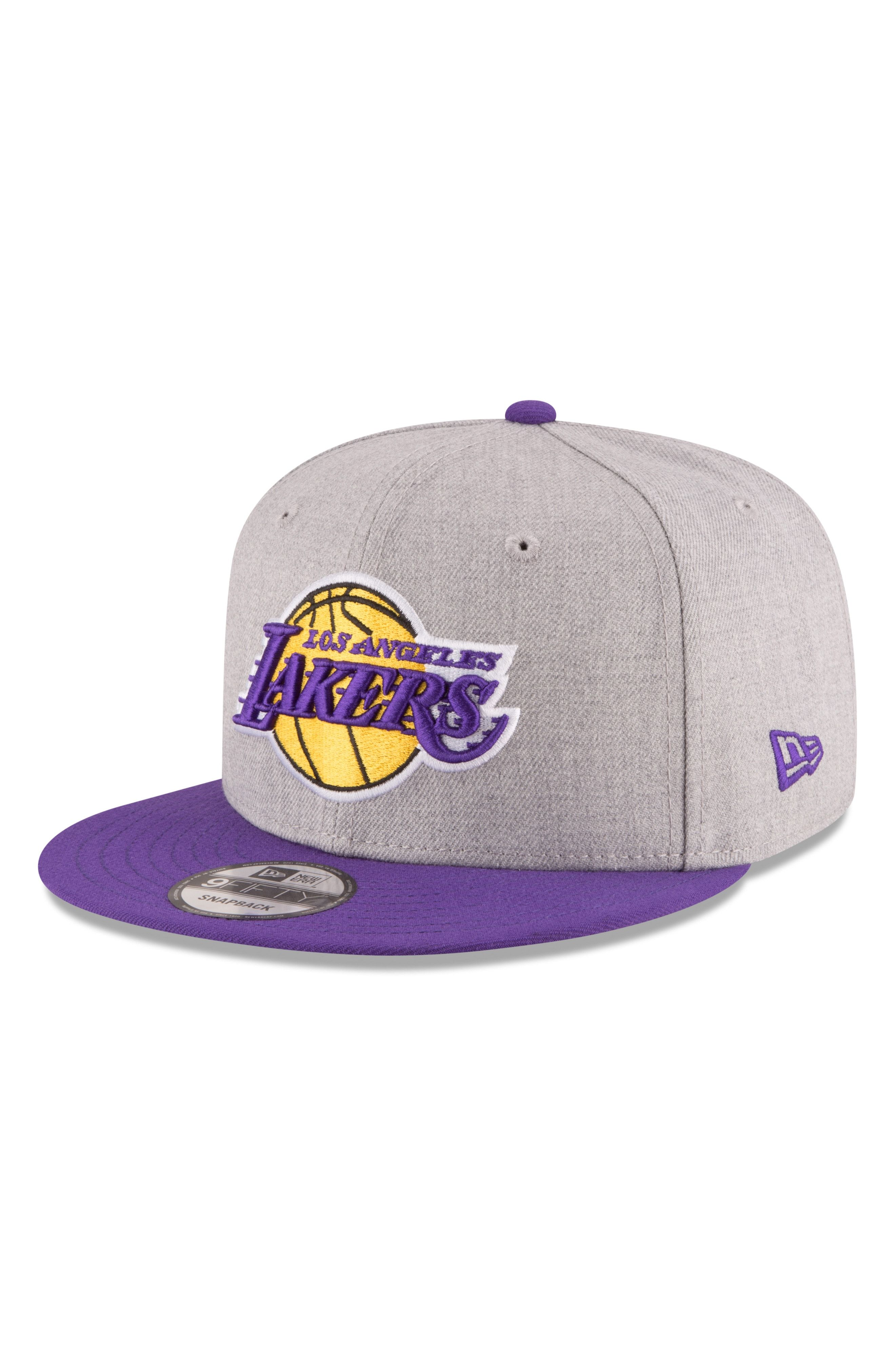 best shoes low priced pretty cheap NEW ERA 9FIFTY LA LAKERS TWO-TONE CAP - GREY. #newera | La lakers ...
