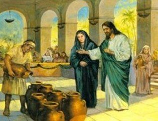 The Wedding At Cana John 2 1 11 This Retelling Of The Story Uses A 3 Minute Video Clip Water Into Wine Miracles Of Jesus Jesus