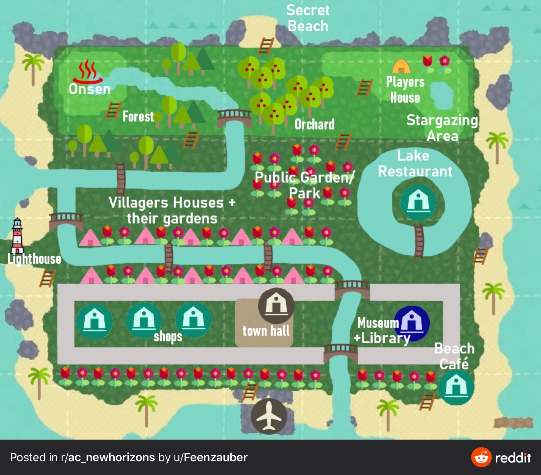 19+ Animal crossing new horizons map images